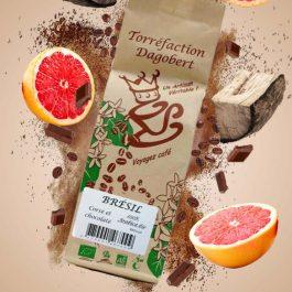 Café grains Brésil 100% arabica bio 250gr