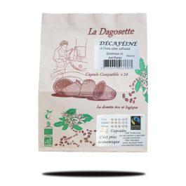 Dagosette décaféiné (à l'eau-sans solvants) bio et équitable x24