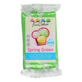 Pâte à sucre –  vert printanier – 250gr – Fun Cakes