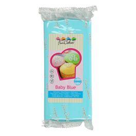 Pâte à sucre bleu bébé 1kg