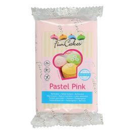 Pâte à sucre rose pastel 250g