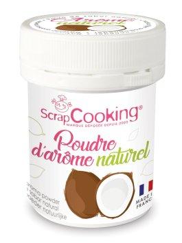 Pot de poudre d'arôme naturel noix de coco – ScrapCooking