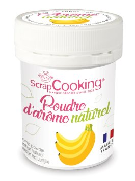 Pot de poudre d'arôme naturel banane – ScrapCooking