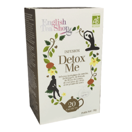 20 sachets Infusion Detox Me – English Tea Shop