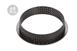 Cercle composite Ø 120 H 2 CM Tarte Ring Round x4 – Silikomart