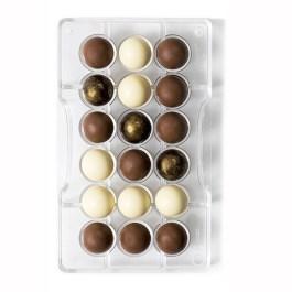 Moule à chocolat sphère Ø 25 18 cavités – Decora