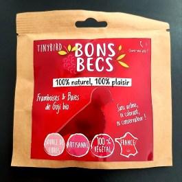 Bonsbecs Framboises & baies de goji bio