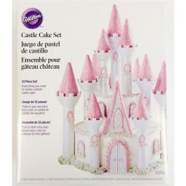 Kit gâteau château Wilton