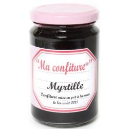 Confiture Myrtille bio 350g – Muroise et compagnie