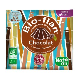Bio-flan chocolat