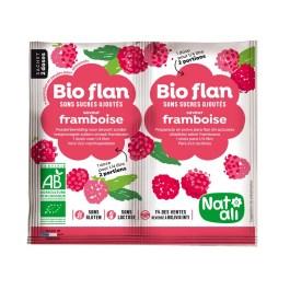 Bioflan non sucré framboise