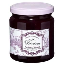 Confiture ma divine framboise & chocolat bio 220g