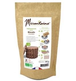 Préparation BIO biscuits chocolatés – Mirontaine