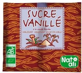 Sucre vanillé 2*8g – Nature & Aliments
