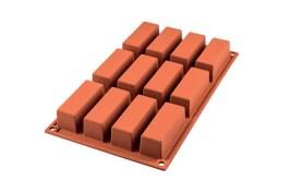 Moule silicone mini rectangle cake 79×29 H 30 MM – SF026 – Silikomart