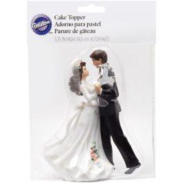 Cake topper figurine mariée danse H 14,6 cm – Wilton