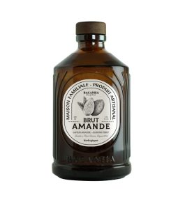 Sirop amande bio bouteille verre 40cl – Bacanha