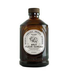 Sirop fleur de sureau bio bouteille verre 40cl – Bacanha