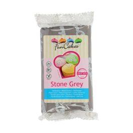 Pâte à sucre – gris pierre – 250gr – Fun Cakes