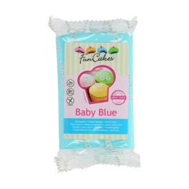 Pâte à sucre – bleu bébé – 250gr – Fun Cakes