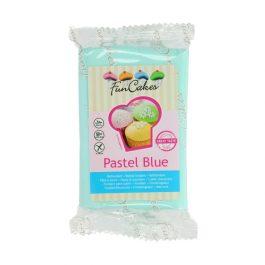 Pâte à sucre – bleue pastel- 250gr – Fun Cakes
