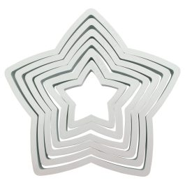 Emporte pièce étoiles x6 – PME