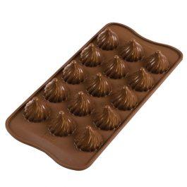 Moule silicone chocolat Choco Flame – Silikomart
