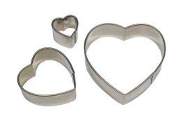 Emporte pièce cœur métal x3 – PME