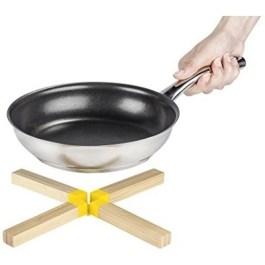 Dessous de plats Bambou silicone jaune – Wenko