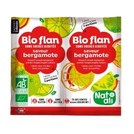 Bioflan non sucré Bergamote – Nature & Aliments