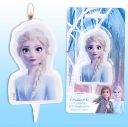 Bougie Reine des neiges 2 Frozen II x1 – Modecor