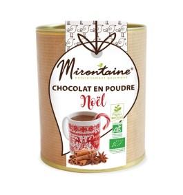Chocolat en poudre Noël Bio 200gr – Mirontaine