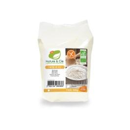 Farine de riz blanc sans gluten 500g – Nature & Cie