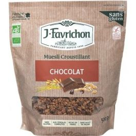 Muesli croustillant chocolat 500g – Favrichon
