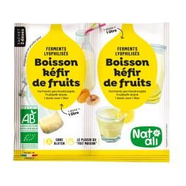 Ferment préparation boisson Kéfir de fruits – Nature & Aliments