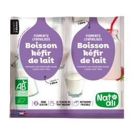 Ferment préparation Kéfir de lait – Nature & Aliments