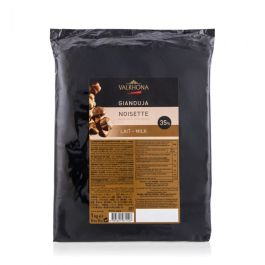 Gianduja lait noisette 35% 1kg – Valrhona