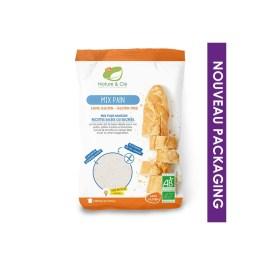 Mix pour pain sans gluten 500g – Nature & Cie