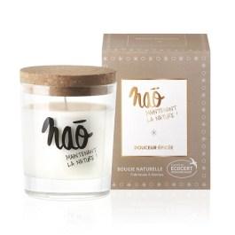 Bougies grand format Douceur épicée – Nao