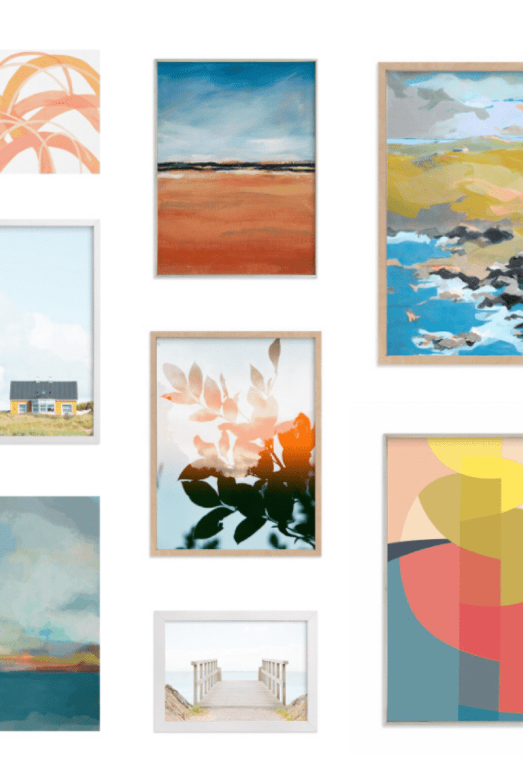 The Gallery Wall Roundup: A Curated Selection of Art Prints from Minted