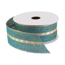 ribbon-wired-teal-gold-stripe