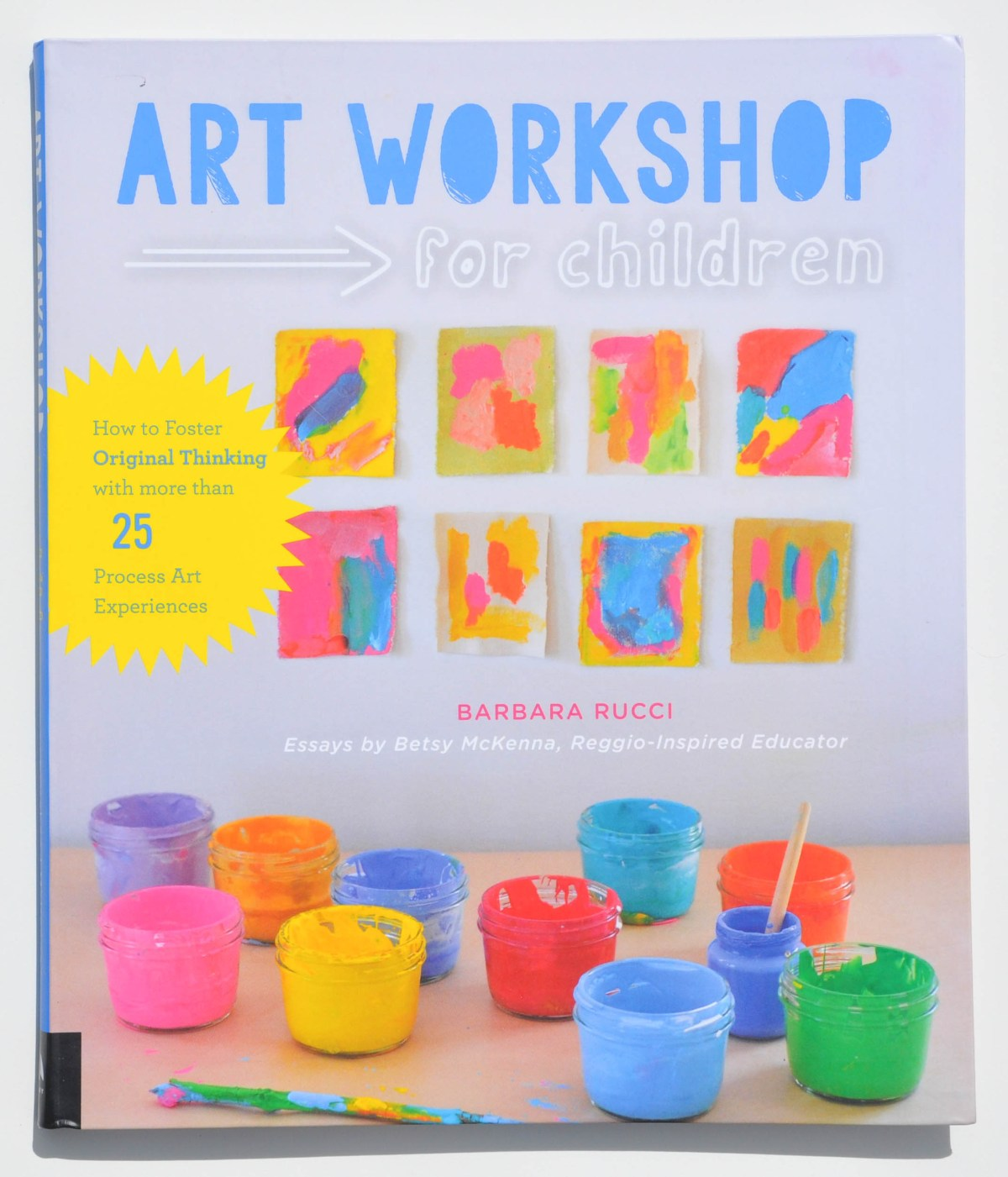 children's art book that describes fun art projects for young children
