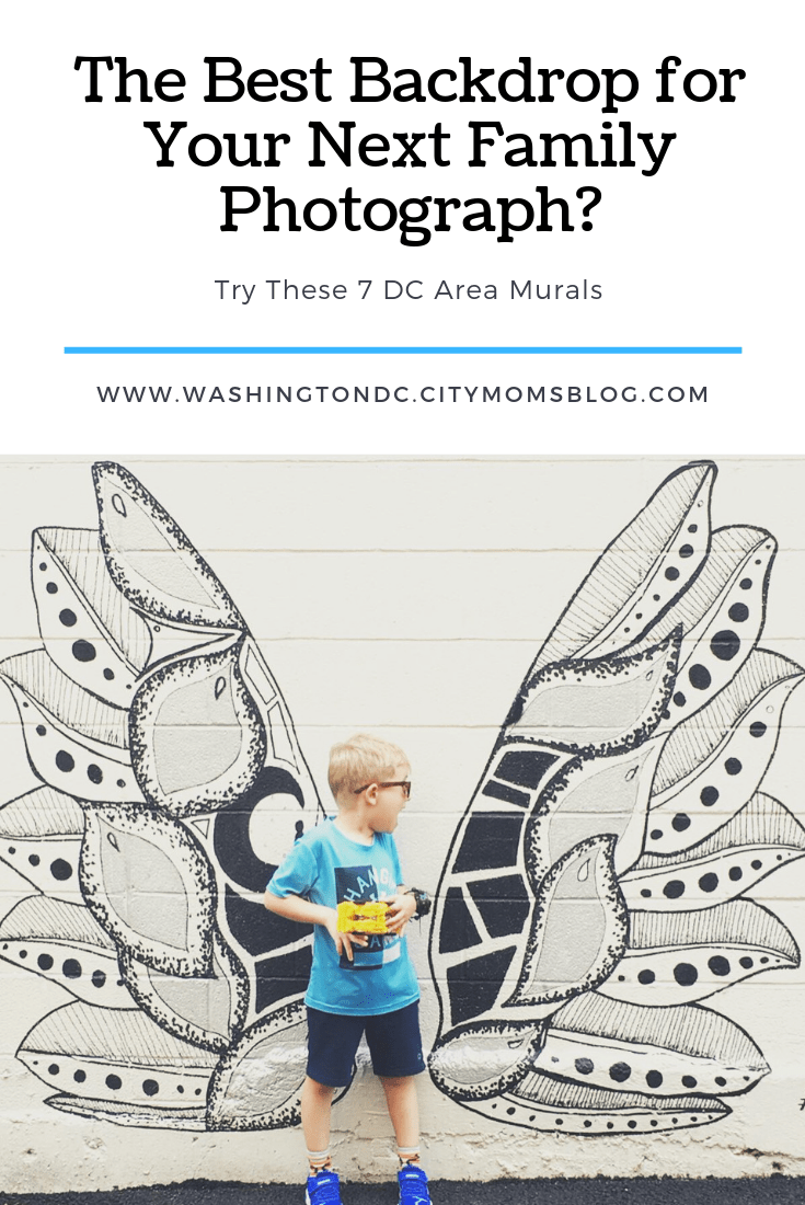 Check Out My Latest Post for the DC Area Moms Blog: 7 of My Favorite DC Area Murals