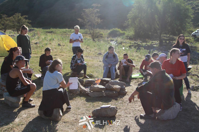 Молодёжный лагерь, г. Текели
