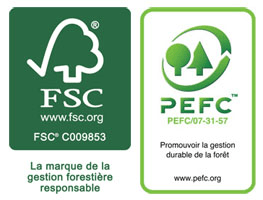 Cartification FSC - PEFC