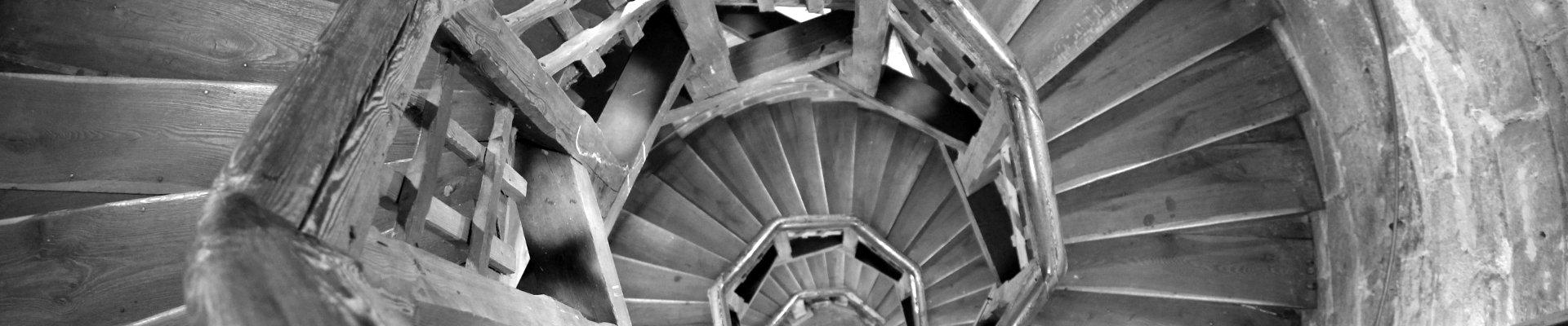 Escaliers de grenier