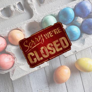 Fermeture lundi de Pâques