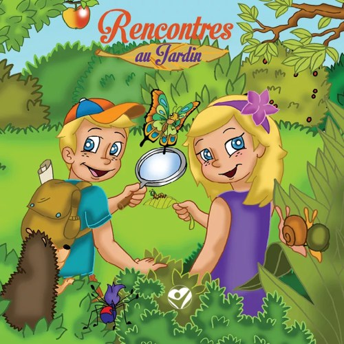 recontres au jardin tome 1 cover front