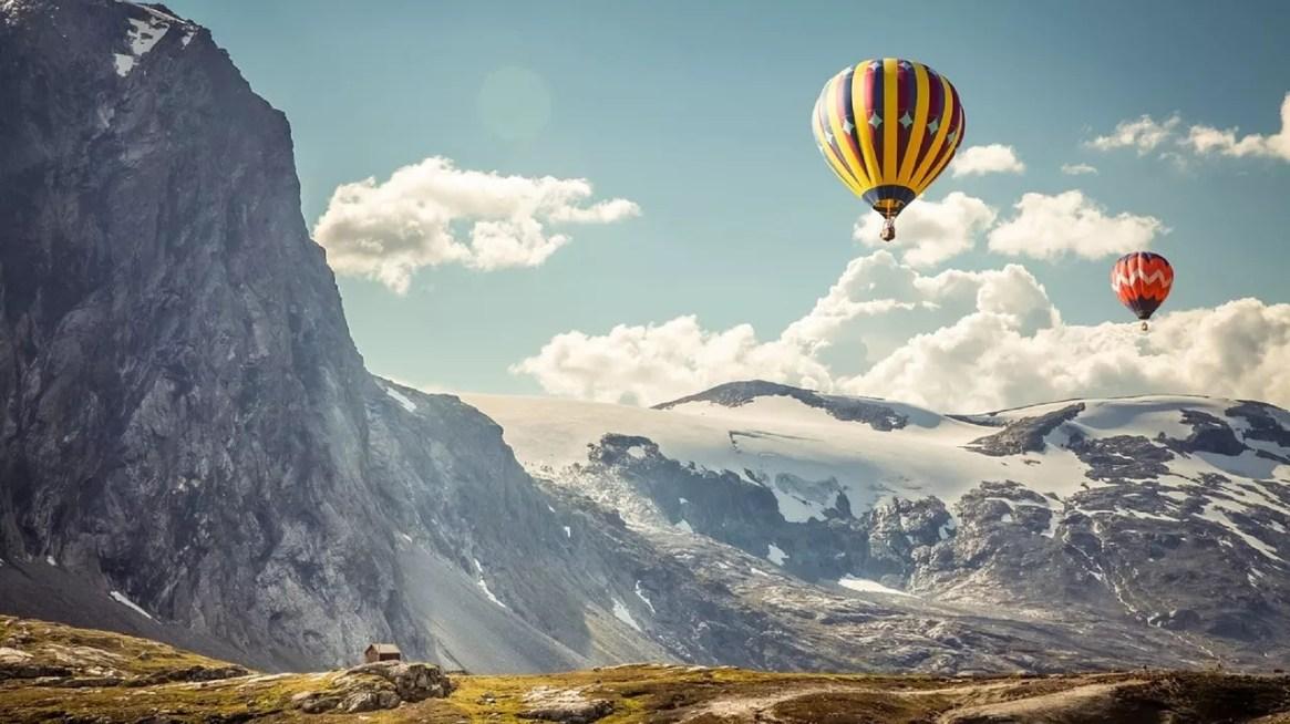 L'aventure et la liberté balloons