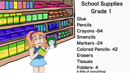 shopping cartoon supply trip elementary smh luster loses cartoons craving mineral lhslance